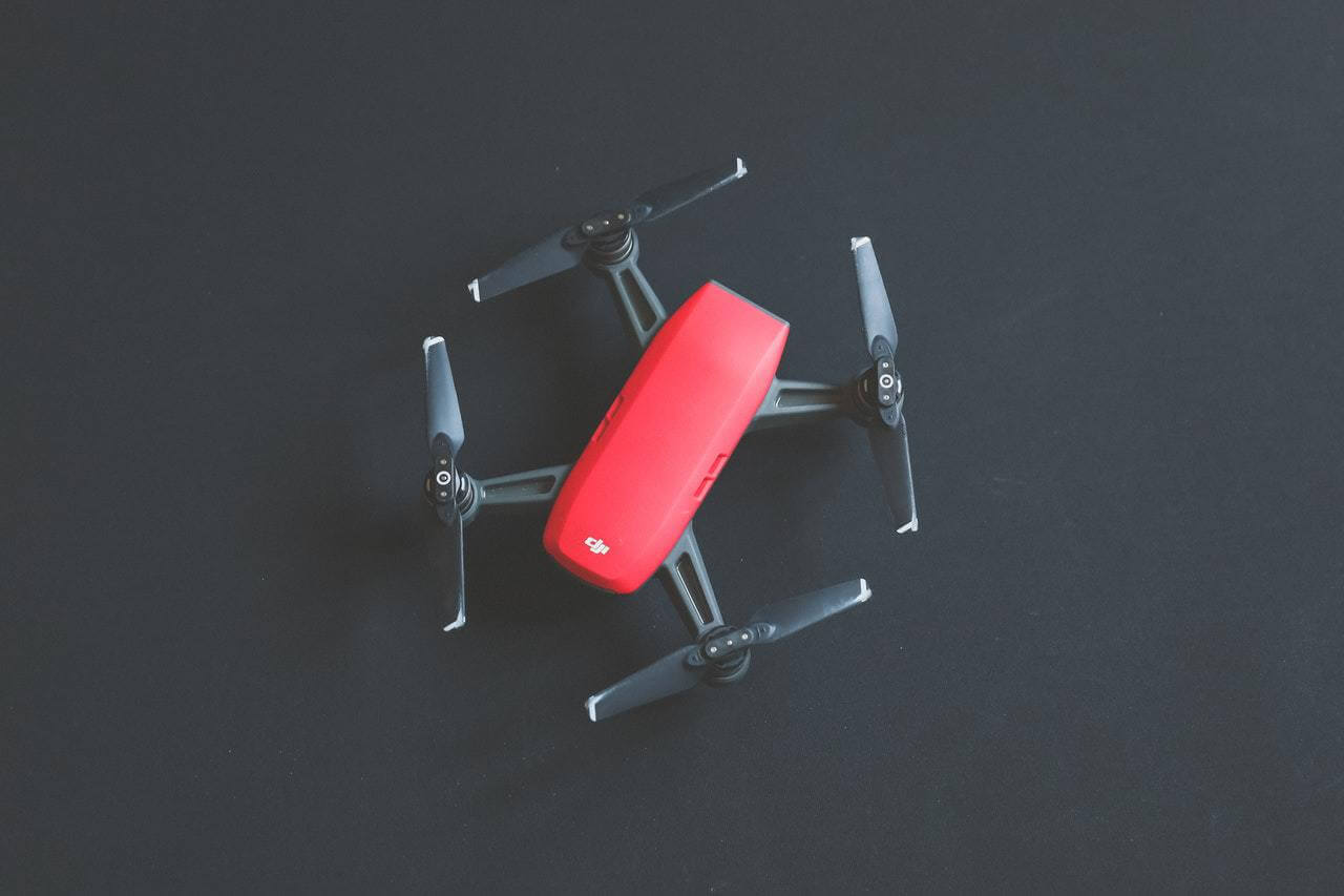 Red Black Drone