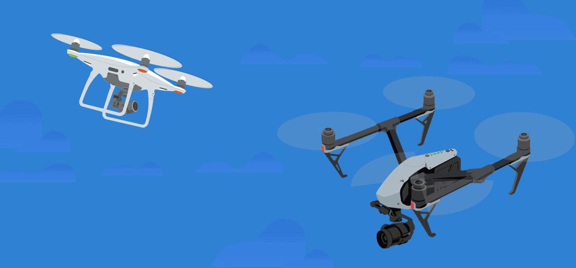 Drones Collision Crash