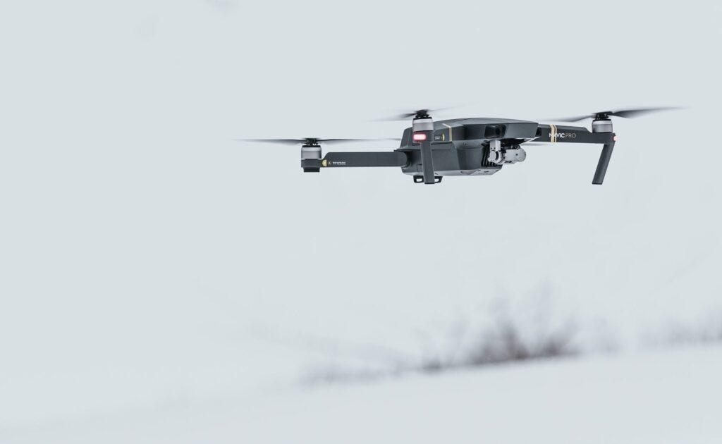 Videography Black Drone